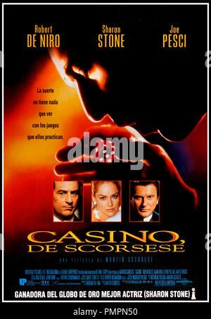 Prod DB © Universal / DR CASINO de Martin Scorsese 1995 USA affiche espagnole avec Robert De Niro, Sharon Stone et Joe Pesci mafia d'apres le livre de Nicholas Pileggi - Stock Photo