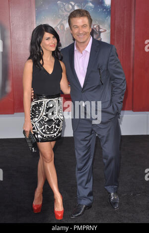 Alec Baldwin & Hilaria Thomas at the 'Rock of Ages' Premiere. Arrivals held at Grauman's Chinese Theater in Hollywood, CA, June 8, 2012. Photo by M.Adams  / PictureLux - Stock Photo