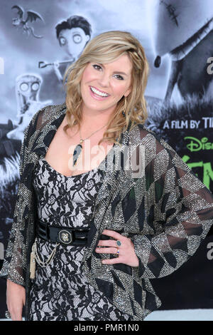 Grace Potter at the Los Angeles premiere of Disney's 'Frankenweenie'. Arrivals held at the El Capitan Theater in Hollywood, CA, September 24, 2012. Photo by: Carrie Chavez / PictureLux - Stock Photo