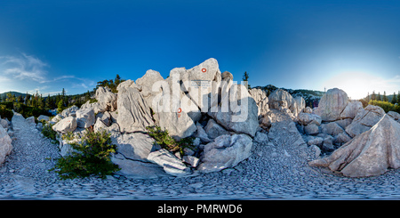 Premužić's mountain trail - 2 - Stock Photo