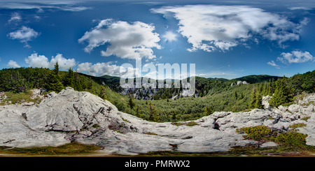 Premužić's mountain trail - 16 - Stock Photo