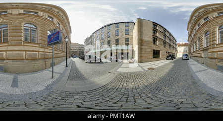 Prague Hotel Four Seasons - Stock Photo