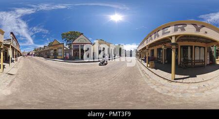 Main Street of Sovereign Hill in Ballarat - Stock Photo