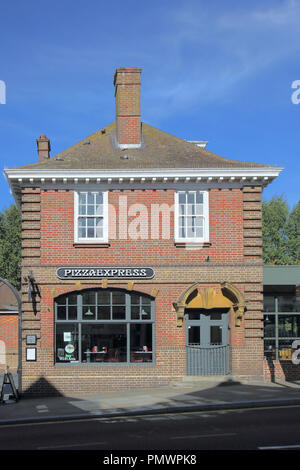Pizza Express In Uckfield In East Sussex England Stock Photo