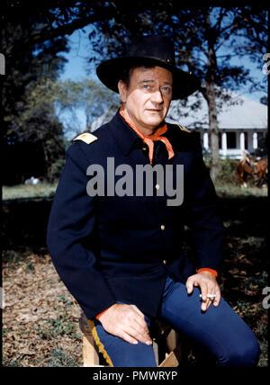 Prod DB © Mirisch Corporation / DR LES CAVALIERS (THE HORSE SOLDIERS) de John Ford 1958 USA avec John Wayne western, - Stock Photo