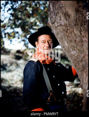 Prod DB © Mirisch Corporation / DR LES CAVALIERS (THE HORSE SOLDIERS) de John Ford 1958 USA avec John Wayne western, - Stock Photo