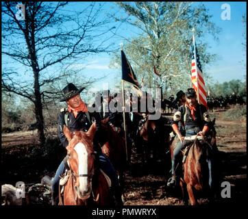 Prod DB © Mirisch Corporation / DR LES CAVALIERS (THE HORSE SOLDIERS) de John Ford 1958 USA avec John Wayne et Constance Towers western, guerre de secession, - Stock Photo
