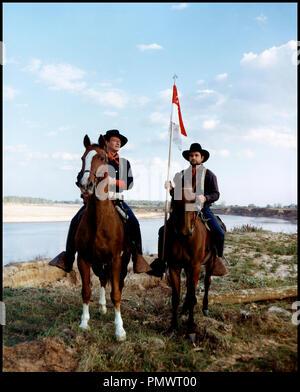 Prod DB © Mirisch Corporation / DR LES CAVALIERS (THE HORSE SOLDIERS) de John Ford 1958 USA avec John Wayne - Stock Photo