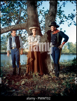 Prod DB © Mirisch Corporation / DR LES CAVALIERS (THE HORSE SOLDIERS) de John Ford 1958 USA avec William Holden, Constance Towers et John Wayne - Stock Photo