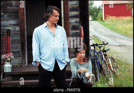 Prod DB © Sonet Film AB - GF Studios AB / DR LA CHORALE DU BONHEUR (SA SOM I HIMMELEN) de Kay Pollak 2004 SUE. avec Michael Nyqvist et Ingela Olsson autre titre: As In Heaven - Stock Photo