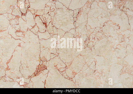 cracked texture of beige marble stone - Stock Photo
