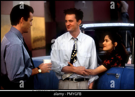 Salma hayek matthew perry fools rush in 1997 stock photo 78314246 alamy - Coup de foudre et consequences ...