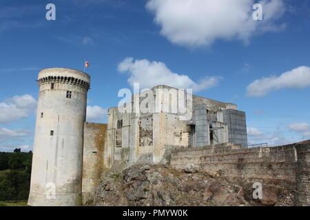 Chateaux Guillaume le Conquérant - Stock Photo