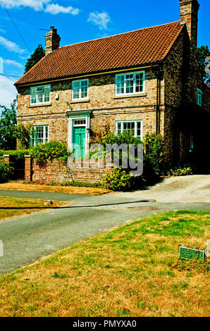 Country House, Sutton on the Forest, North Yorkshire, England - Stock Photo