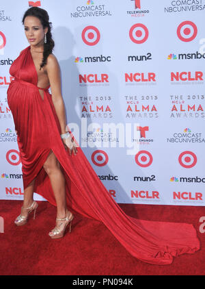 Dania Ramirez at The 2013 NCLR ALMA Awards held at the Pasadena Civic Auditorium in Pasadena, CA. The event took place on Friday, September 27, 2013. Photo by PRPP_PRPP / PictureLux  File Reference # 32132_038PRPP01  For Editorial Use Only -  All Rights Reserved - Stock Photo