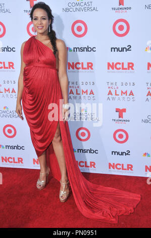 Dania Ramirez at The 2013 NCLR ALMA Awards held at the Pasadena Civic Auditorium in Pasadena, CA. The event took place on Friday, September 27, 2013. Photo by PRPP_PRPP / PictureLux  File Reference # 32132_039PRPP01  For Editorial Use Only -  All Rights Reserved - Stock Photo