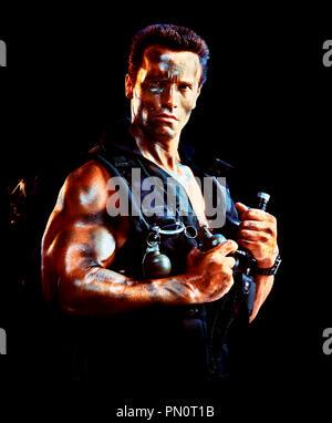 Prod DB © 20TH Century / DR COMMANDO de Mark Lester 1985 USA avec Arnold Schwarzenegger muscles, combat, guerrier - Stock Photo