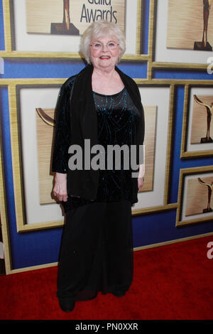 June Squibb  02/01/2014 2014 Writers Guild Awards held at JW Marriott Los Angeles L.A. Live in  Los Angeles, CA Photo by Kazuki Hirata / HNW / PictureLux - Stock Photo