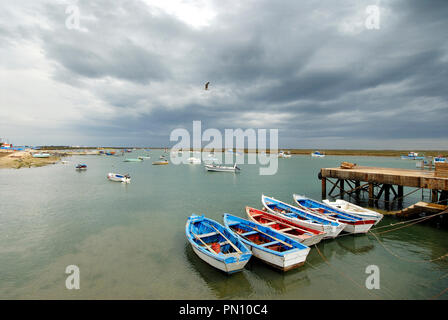 Santa Luzia, Tavira. Algarve - Stock Photo