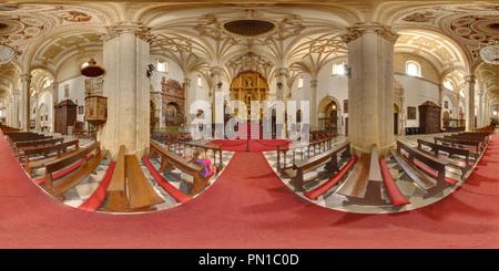 Catedral de Baeza, interior. - Stock Photo