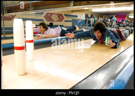 Prod DB © Sony - Columbia Pictures - Happy Madison / DR CRAZY DAD (THAT'S MY BOY) de Sean Anders 2012 USA avec Andy Samberg et Adam Sandler piste de bowling - Stock Photo
