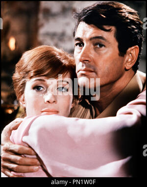 Prod DB © Paramount Pictures / DR DARLING LILI (DARLING LILI) de Blake Edwards 1970 USA avec Julie Andrews et Rock Hudson couple, tendresse - Stock Photo