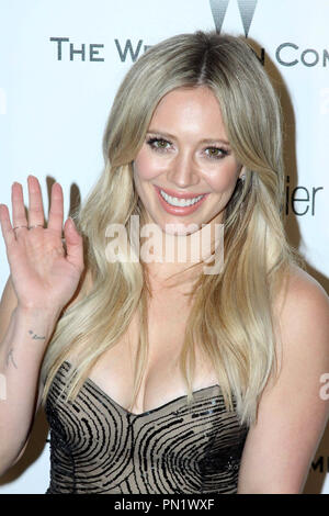 Hilary Duff at the Weinstein 2015 Golden Globes After Party held at the Robinsons May Lot in Beverly HIlls, CA, January 11, 2015. Photo by: R.Anthony / PictureLux  File Reference # 32538_0044RAC  For Editorial Use Only -  All Rights Reserved - Stock Photo