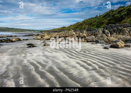 Poppit Sands, near Cardigan, Ceredigion, Wales - Stock Photo