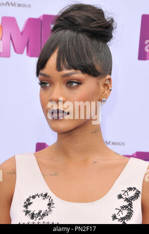 Rihanna at the 'Home' Los Angeles Premiere held at the Regency Village Theater in Westwood, CA on Sunday, March 22, 2015. Photo by PRPP_PRPP / PictureLux  File Reference # 32590_112PRPP01  For Editorial Use Only -  All Rights Reserved - Stock Photo