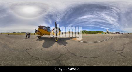 C-45 Bucket of Bolts, Historic Flight Foundation, Mukilteo, WA - Stock Photo