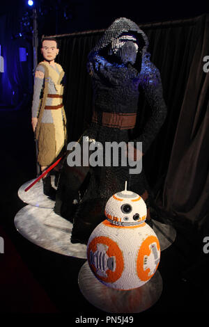 Atmosphere  12/14/2015 'Star Wars The Force Awakens' Premiere held at the Dolby Theatre in Hollywood, CA Photo by Kazuki Hirata / HNW / PictureLux - Stock Photo