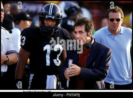 Prod DB © Warner Bros / DR L'ENFER DU DIMANCHE (ANY GIVEN SUNDAY)  de Oliver Stone 1999 USA avec Jamie Foxx, Al Pacino et Dennis Quaid football americain - Stock Photo
