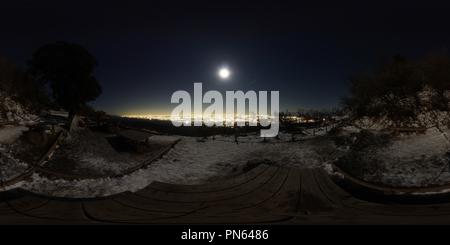 Mt.Ooyama, Tanzawa, night - Stock Photo