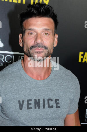 Beverly Hills, USA. 19th Sep 2018. Actor Frank Grillo attends Los Angeles Premiere of 'Fahrenheit 11/9' on September 19, 2018 at Samuel Goldwyn Theater in Beverly Hills, California. Photo by Barry King/Alamy Live News - Stock Photo