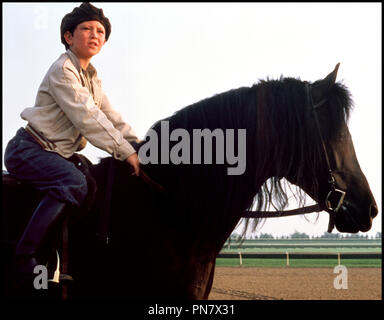 Prod DB © Omni Zoetrope / DR L'ETALON NOIR (THE BLACK STALLION) de Carroll Ballard 1979 USA avec Kelly Reno d'apres le roman de Walter Farley - Stock Photo