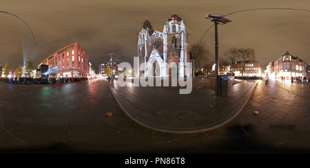GLOW 2015 - Diplopia, Catharina Church, Eindhoven, The Netherlands - Stock Photo
