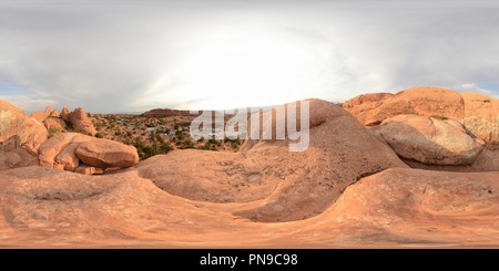 Arches, Devils Garden Campground - Stock Photo