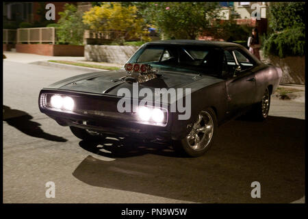 Prod DB © Relativity Media - Universal Pictures / DR FAST AND FURIOUS 4 (FAST & FURIOUS) de Justin Lin 2009 USA saga, voiture Dodge Charger de 1970 autres titres: Fast & Furious 4, Rapides et dangereux (Canada: French title) - Stock Photo