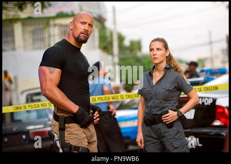 Prod DB © Universal Pictures - Original Film / DR FAST AND FURIOUS 5 (FAST FIVE) de Justin Lin 2011 USA avec Dwayne Johnson et Elsa Pataky suite, sequelle, action - Stock Photo