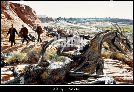 Prod DB © The Montecito Picture Company / DR EVOLUTION (EVOLUTION) de Ivan Reitman 2001 USA avec Orlando Jones, Seann William Scott et David Duchovny dragons, extraterrestres, - Stock Photo
