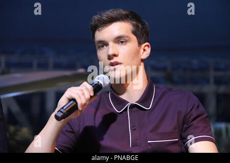Fionn Whitehead  07/09/2017 'Dunkirk' Press Conference held at the Barker Hangar in Santa Monica, CA Photo by Izumi Hasegawa / HNW / PictureLux - Stock Photo
