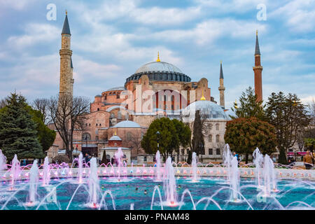 Hagia Sophia in Istanbul - Stock Photo