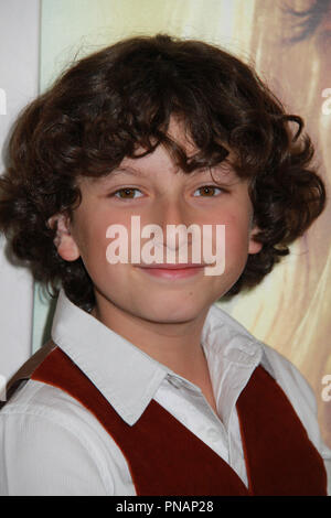 August Maturo  04/04/2017 The Los Angeles Premiere of 'Gifted' held at the Pacific Theatres at The Grove in Los Angeles, CA Photo by Izumi Hasegawa / HNW / PictureLux - Stock Photo