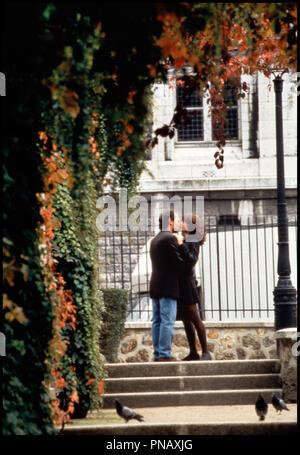 Prod DB © Castle Rock  / DR FORGET PARIS (FORGET PARIS) de Billy Crystal 1995 USA avec Billy Crystal et Debra Winger couple, embrasser - Stock Photo