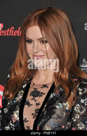 Isla Fisher at the 2018 G'Day USA Los Angeles Gala held at the InterContinental Los Angeles Downtown in Los Angeles, CA on Saturday, January 27, 2018. Photo by PRPP / PictureLux  File Reference # 33520_065PRPP01  For Editorial Use Only -  All Rights Reserved - Stock Photo