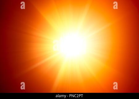 sunlight, lighting effect. - Stock Photo