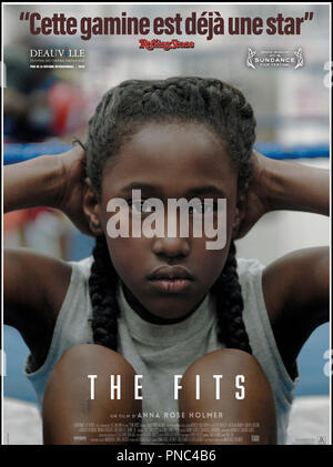Prod DB © Yes, Ma'am! / DR THE FITS de Anna Rose Holmer 2015 USA affiche française avec Royalty Hightower adolescente - Stock Photo