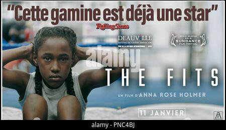 Prod DB © Yes, Ma'am! / DR THE FITS de Anna Rose Holmer 2015 USA teaser français avec Royalty Hightower adolescente - Stock Photo