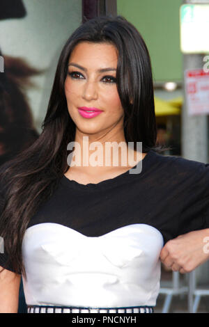 Kim Kardashian at the Los Angeles Premiere of ORPHAN held at the Mann's Village Theater in Westwood, Ca on Tuesday, July 21, 2009. Photo by PRPP / PictureLux  File Reference # KimKardashian_72109_05PRPP  For Editorial Use Only -  All Rights Reserved - Stock Photo
