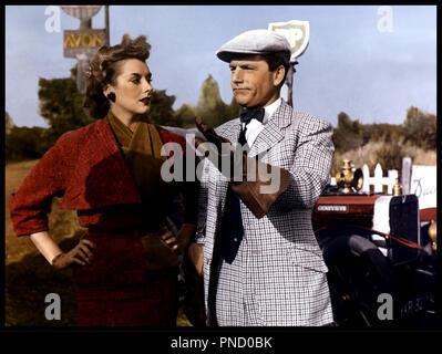 Prod DB © Rank Organisation / DR GENEVIEVE (GENEVIEVE) de Henry Cornelius 1953 GB avec Kay Kendall et Kenneth More bcbg - Stock Photo
